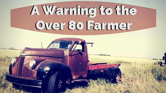 Over 80 Farmer Image