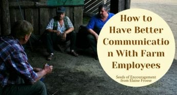 How to Have Better Communication with Farm Employees