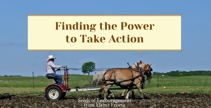 Finding the Power to Take Action