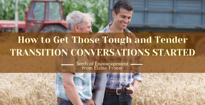 farm transition conversations