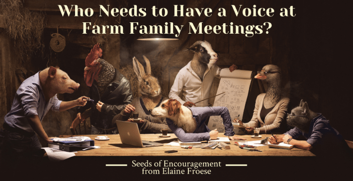 farm family meeting