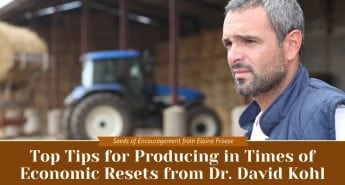 Top Tips for Producing in Times of Economic Resets from Dr. David Kohl