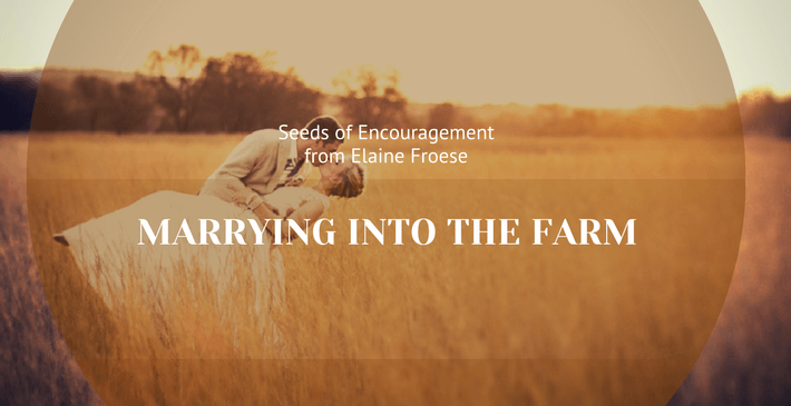 healthy marriage - marrying into the farm