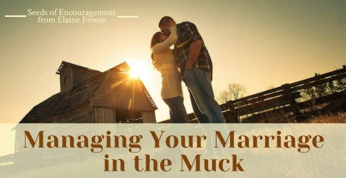 healthy marriage - managing your marriage in the muck
