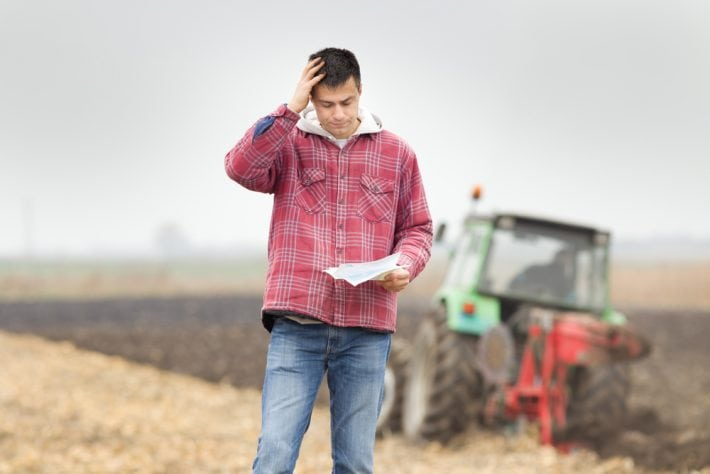 Farm debt servicing