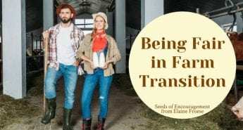 Love Does Not Read Minds: Being Fair in Farm Transition
