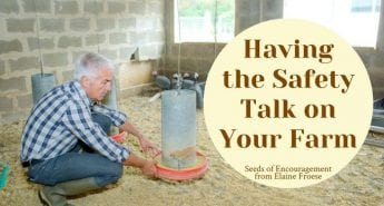 Having the Safety Talk on Your Farm