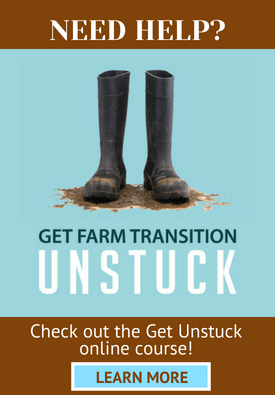 GET UNSTUCK ONLINE COURSE FOR FARM FAMILIES