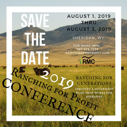 Ranching for Profit Conference