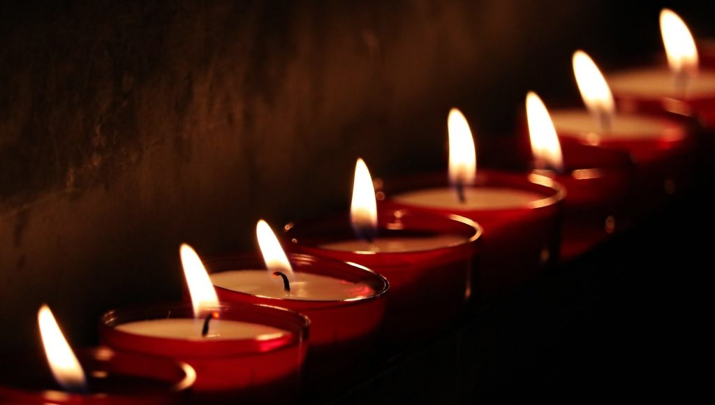 what matters most - light candles for family time