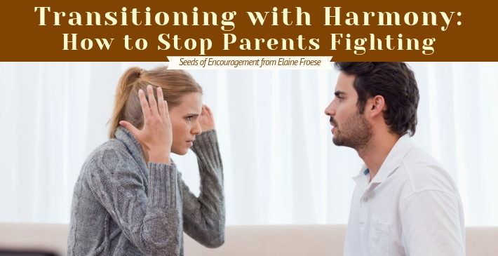 Transitioning with Harmony - How to Stop Parents Fighting