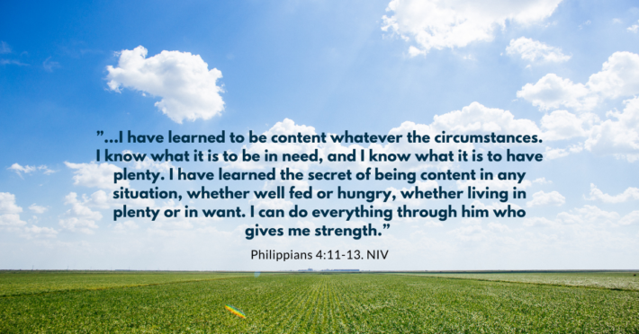 gift of contentment philippians 4:13 image
